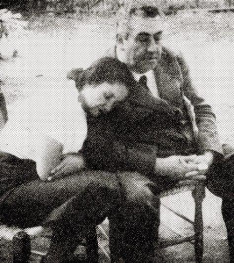 Pablo de Rokha y Violeta Parra